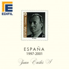 Hojas EDIFIL España Juan Carlos I (1997-2001)