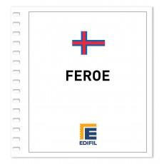 Feroe 2001/2005. Juego hojas ilustrado. Color