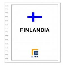 Finlandia 1981/1990. Juego hojas ilustrado