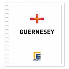 Guernesey 1969/1980. Juego hojas ilustrado