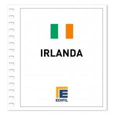 Irlanda 1981/1990. Juego hojas ilustrado