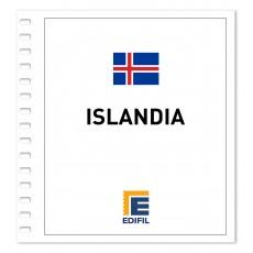 Islandia 2001/2005. Juego hojas ilustrado. Color