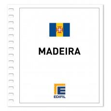 Madeira 1980/1990. Juego hojas ilustrado