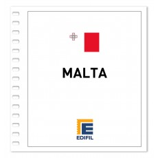 Malta 2001/2005. Juego hojas ilustrado. Color