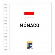 Mónaco 1981/1990. Juego hojas ilustrado