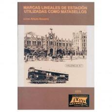 Expo GaleríaMarcas lineales de ferrocarril utilizadas como matasellos