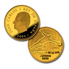 Mundial de fútbol 2004. Oro