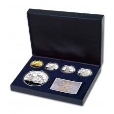 Bicentenario de la Guerra de la Independencia. Colección completa oro y plata.