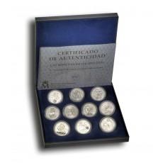 Colección monedas 12 euros 2002-2010