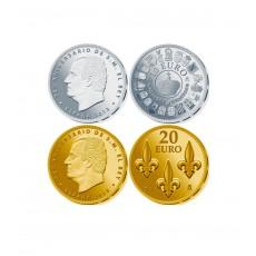 75º Aniversario del Rey. Moneda 10€ + 20€ oro