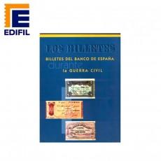 Joan Montaner.Billetes del Banco de España durante la Guerra Civil