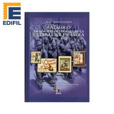 SELLOS LOCALES GUERRA CIVIL española Tomo I (1936-1939) Cataluña. Julio Allepuz