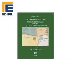 Catálogo especializado de enteros postales de España Colonias y Dependencias Tomo IV. Ed. 2012