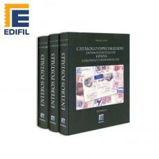 Catálogo especializado de enteros postales de España Colonias y Dependencias Ed. 2006. Tres Tomos.