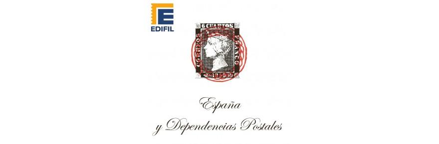España y dependencias postales
