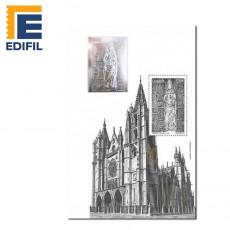Sello de plata + Prueba Catedral de León