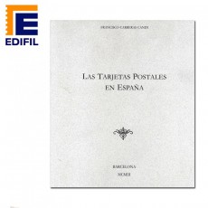 Francisco Carreras Candi.Tarjetas Postales Españolas (facsimil)