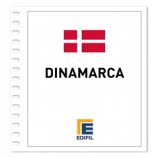 Dinamarca Suplemento 2015 Carnés ilustrado. Color