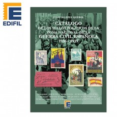 Catálogo de los sellos políticos de la zona nacional de la Guerra Civil Española (1936-1939) Julio Allepuz