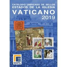 Catálogo Unificado de Sellos Estados de la Iglesia Vaticano 2019