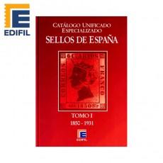 Catálogo Unificado Especializado de Sellos de España Serie Burdeos Tomo I