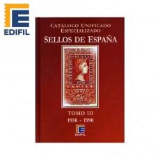 Catálogo Unificado Especializado de Sellos de España Serie Burdeos Tomo III