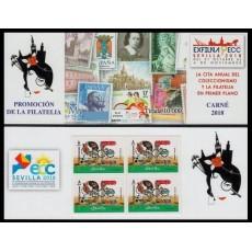 Carné de Promoción de la Filatelia Sevilla ECC 2018