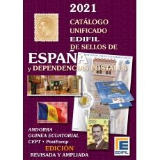 Catálogo de Sellos de España y Dependencias Postales 2021
