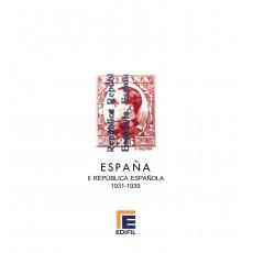 Hojas EDIFIL España II República Española (1931-1939)