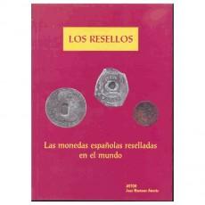 Joan Montaner.Las monedas españolas reselladas en el mundo