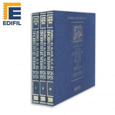 Álvaro Martínez Pinna.Manual de las emisiones de los sellos de España. Años 1939-1950. Obra completa (Con estuche)