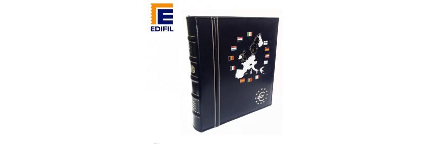 Álbum para monedas y billetes en euros